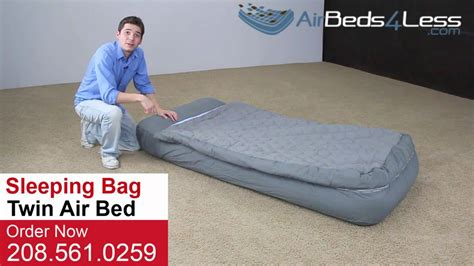 intex sleeping bag air bed with electric
