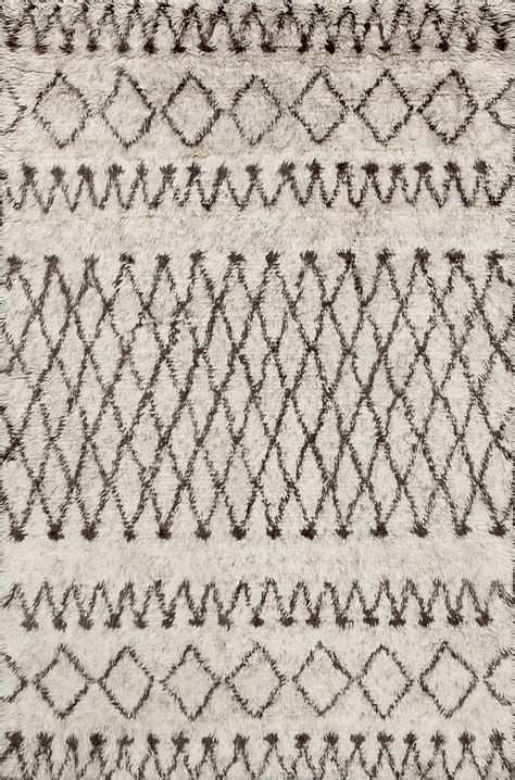 Beni Ourain Rugs For Sale rugsville moroccan beni ourain ivory brown 12187 wool rug