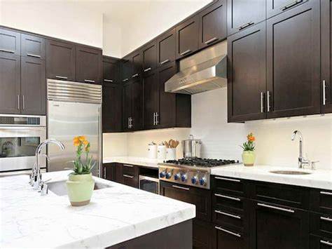 kitchen color ideas with dark cabinets dark kitchen cabinets colors quicua com