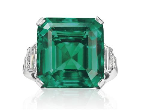 rockefeller emerald could be most expensive auctioned