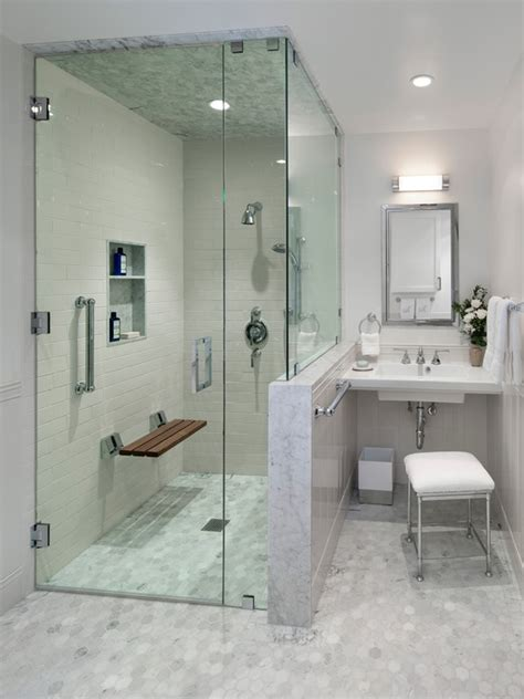 23 Bathroom Designs With Handicap Showers Messagenote Handicapped Bathroom Showers