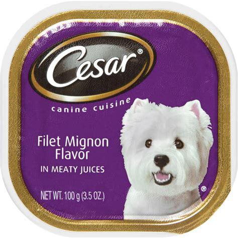 cesar puppy food cesar canine cuisine food walmart