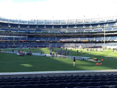 Section 104 Yankee Stadium by Yankee Stadium Football Section 104 Rateyourseats