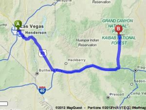 grand map from las vegas getaway guide weekend road trip to grand az 171 cbs