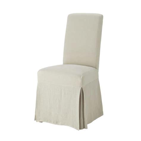 housse de chaise maison du monde maisons du monde housse longue de chaise en lav 233