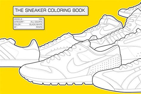the sneaker coloring book sneaker coloring book for big kidrobot