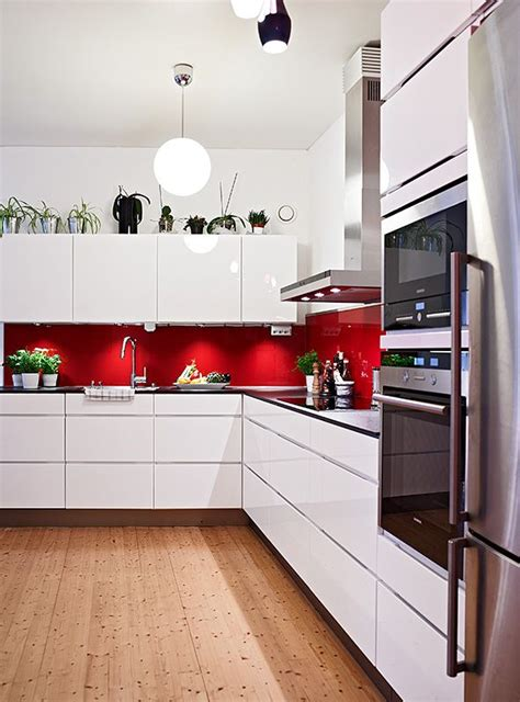 red and white kitchen designs 15 impressive red and white interior designs that you