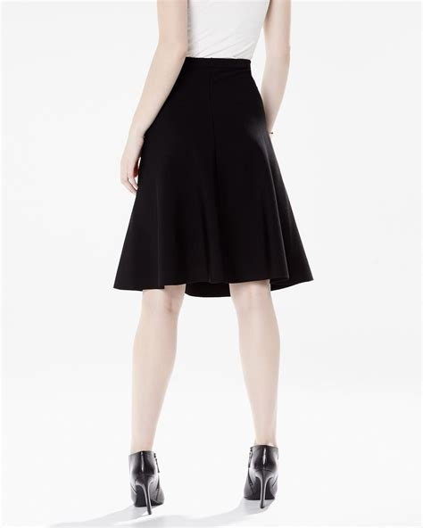 knit flare knit flare skirt rw co