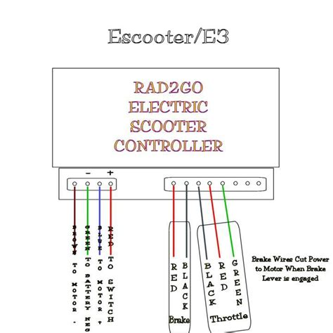 electric scooter controller 36 volt wiring diagram get