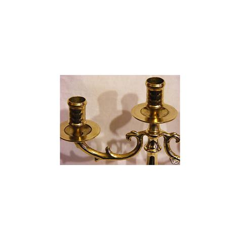 candele bologna candelabro 26cm ottone bologna portacandele candele