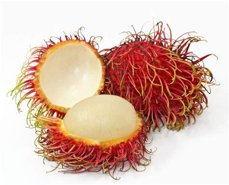 lychee fruit inside rambutan the heart thrills
