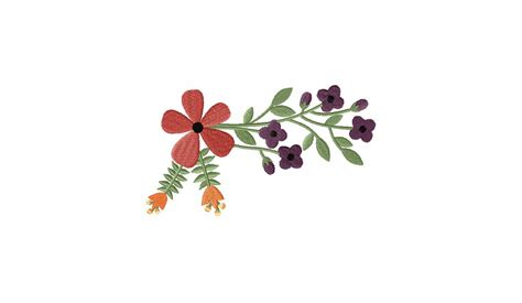 Home Color Design Software Free Gorgeous Vintage Flowers Machine Embroidery Design