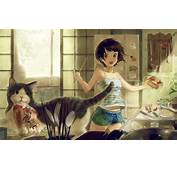Anime Wallpaper Kitchen  Coolvibe Digital ArtCoolvibe