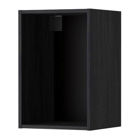 metod korpus wandschrank metod korpus wandschrank holzeffekt schwarz 40x37x60 cm