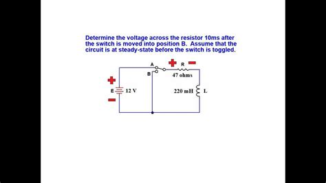 inductors transient response tutorial on inductor transient response series rl circuits