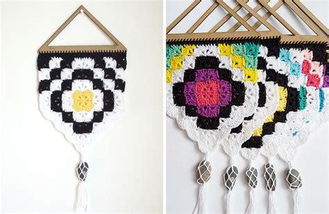 free pattern wall hanging project 019 tribal wall hanging free crochet pattern