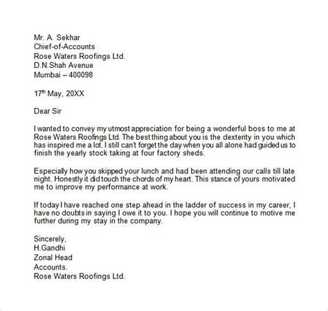 14 appreciation letter to boss bike friendly windsor