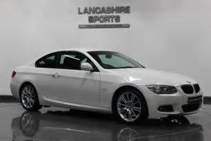 bmw 320 2 0 2010 i m sport coupe white ebay