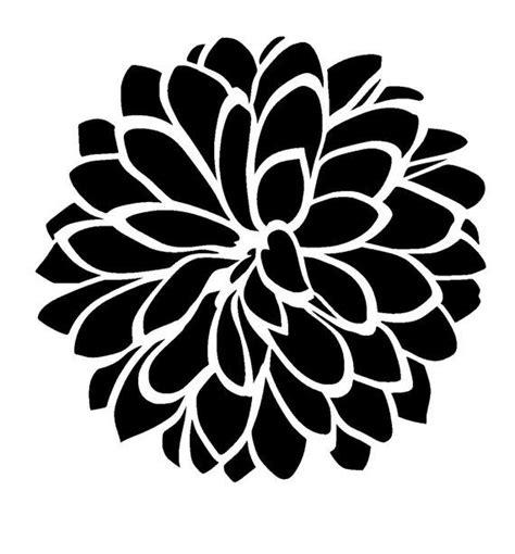 Printable Flower Stencils
