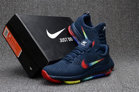 Shoes Sport Nike 1730 Cewek Blue new arrivel nike air max dlx deluxe navy blue multi color s running shoes sneakers