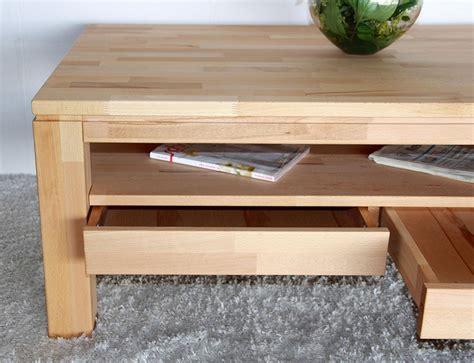 Schublade Dekorieren by Couchtisch Wohnzimmertisch Mit Schublade 115x70 Massiv