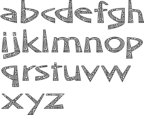 printable african fonts myfonts typefaces with an african theme
