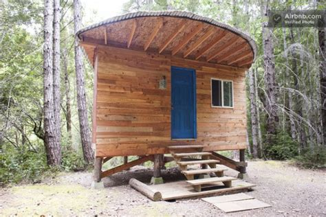 small vacation cabins you can stay in this off grid micro cabin for 35 a night