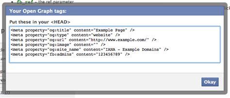 membuat facebook open graph facebook meta property open graph protocol