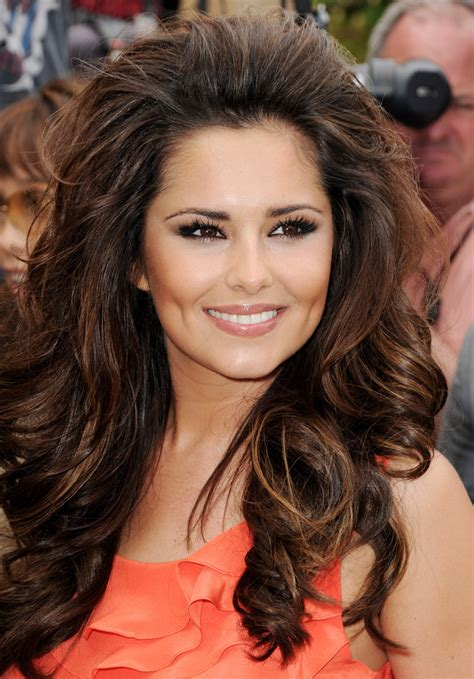 long hair with height in crown cheryl cole long curls cheryl cole hair looks stylebistro