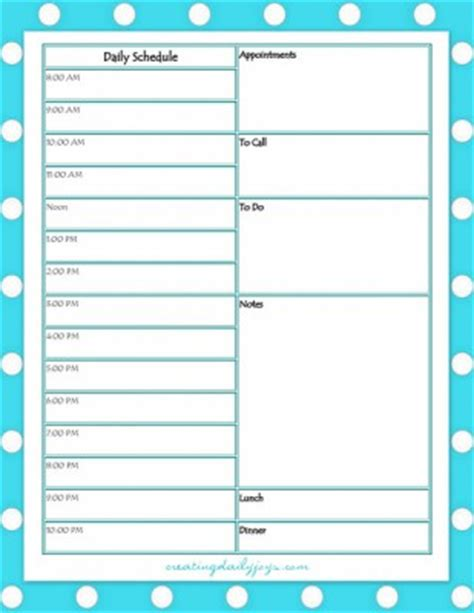Series On Aging Caring For Parents Pt 2 Get Organized Daily Care Plan For Elderly Template