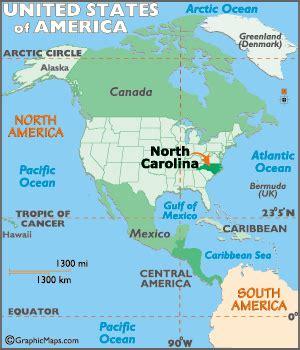 north carolina map and north carolina satellite images