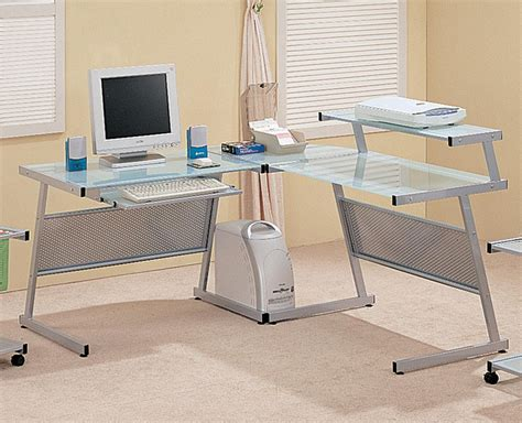 glass computer desk ikea glass computer desk great small glass top computer desk