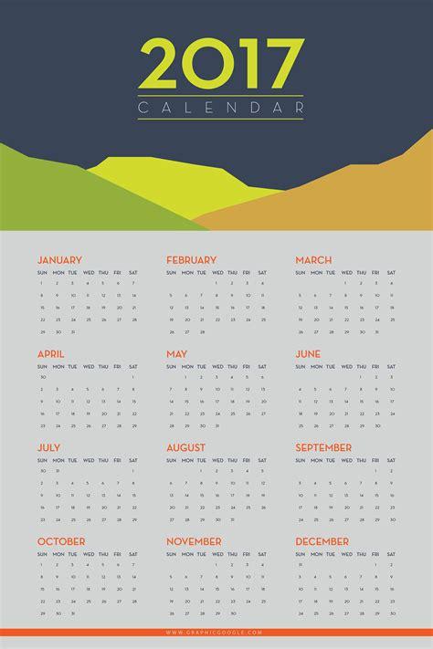 printable calendar 2017 design free flat printable wall calendar 2017 graphic google