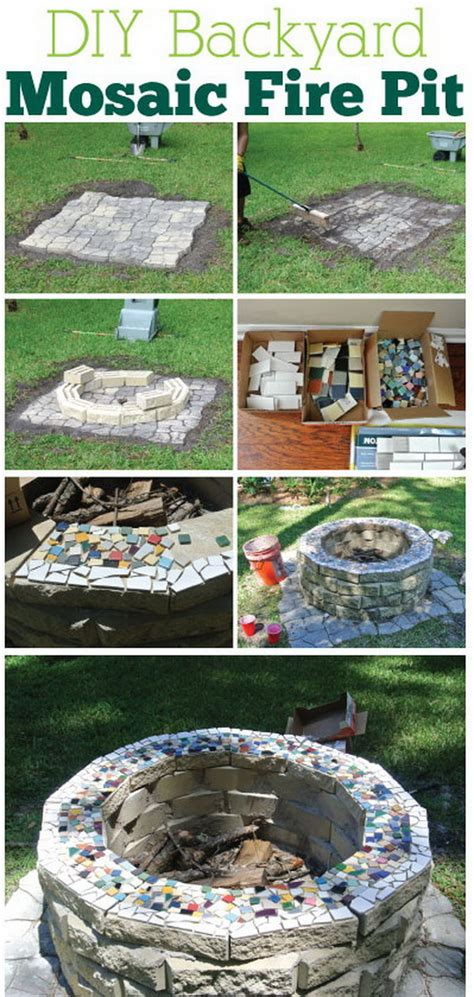 20 Diy Fire Pits For Your Backyard With Tutorials Diy Backyard Pits