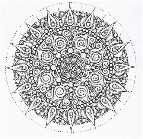 free coloring pages of mandala goddess