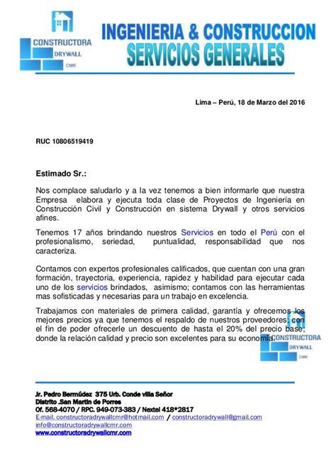 Modelocurriculum Net Modelos Carta Presentacion Carta De Presentacion De Cmr 2016