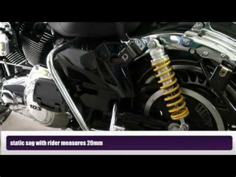 Shock Depan Ohlins Mx King road king 2011 air to ohlins shocks