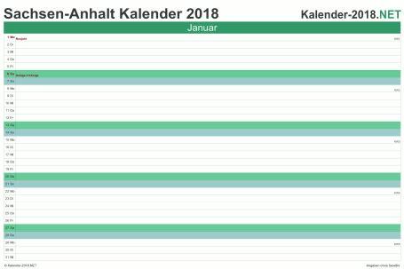 Kalender 2018 Ausdrucken Sachsen Anhalt Kalender 2018 Sachsen Anhalt
