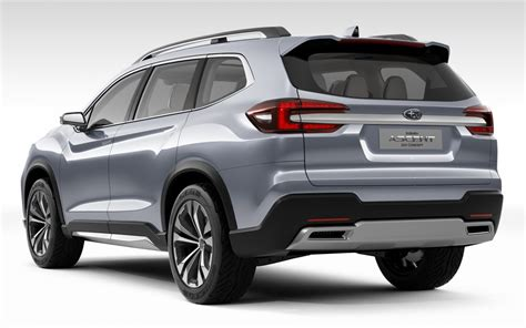 subaru concept subaru ascent concept previews generation 2018