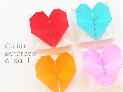 cajita en forma de corazn cajita con coraz 243 n para como hacer una cajita de papel en forma de estrella para