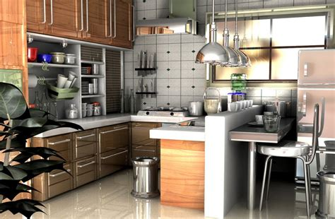 kitchen 3d design 3d minimalist kitchen interior design 3d house free 3d
