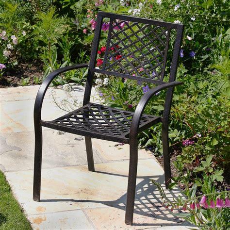 Metal Garden Furniture Frances 150cm 6 Seater Metal Garden Furniture Set