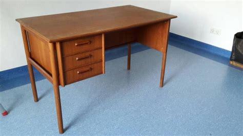 ebay kleinanzeigen schreibtisch 50er jahre schreibtisch desk teak modern design