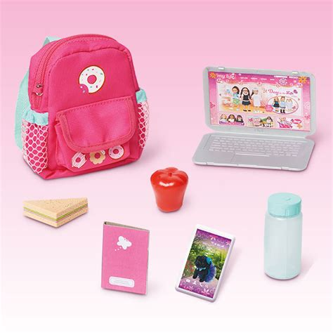 my life doll desk back to accessories my life as