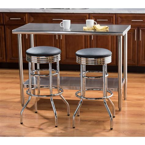 cushioned bar stool trinity 30 in chrome swivel cushioned bar stool twe