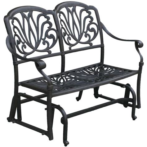 Cast Aluminum Patio Chairs Patio Furniture Glider Bench Cast Aluminum Lisse