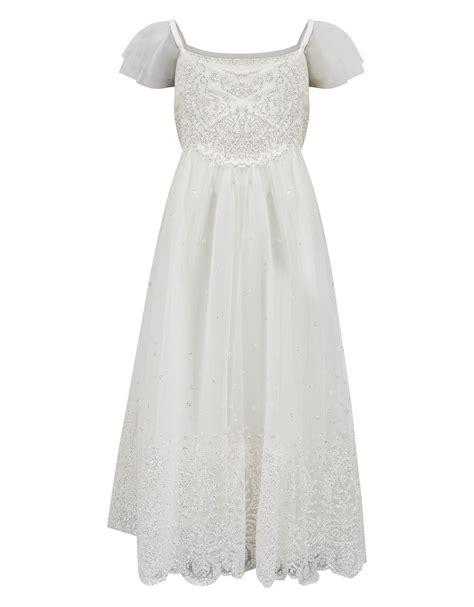 12835 Black Dress i this one glitter estella dress ivory