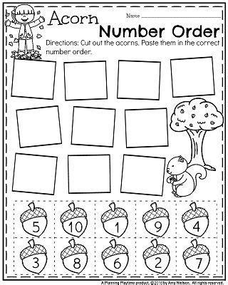 november preschool worksheets worksheets count and november