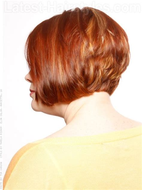 short bob styles with a subtle stacking 149 best hairstyles for older women images on pinterest