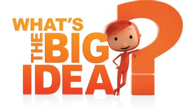 what's the big idea? cbeebies bbc